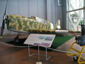 Sis saw this plane at the Italian Air Force Museum
