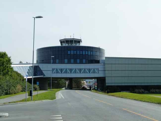 Norwegian Aviation Museum tower