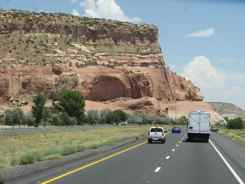 Painted Cliffs Arizona - on the road