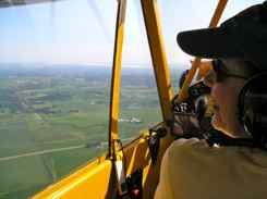 Carol pilots last leg to Oshkosh