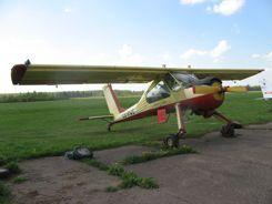 PZL-104 Wilga near Narva Estonia