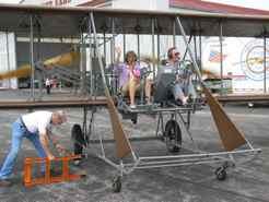 Wright B Flyer - ready for flight