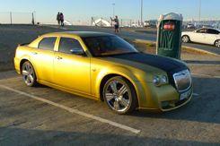 A really cool car a sheik drove in
