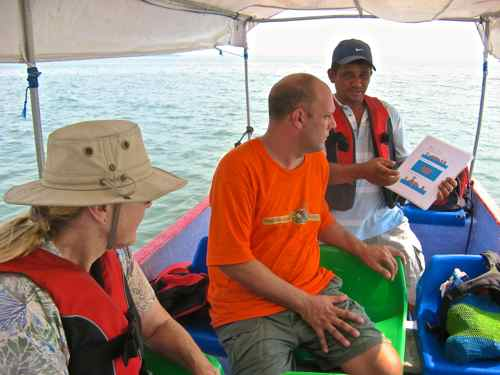 Safety Instructions for Gulf of Fonseca crossing