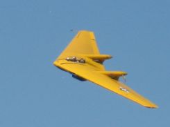 Couldn't resist adding photos: N9MB Flying Wing at Camarillo Air Show