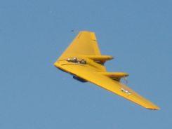 Couldn't resist adding photos: N9MB Flying Wing at Camarillo Air Show