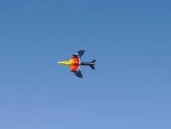 Hawker Hunter - Miss Demeanour at Al Ain Air Show