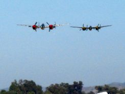 P-38 Lightnings at Camarillo