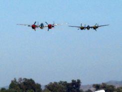 P-38 Lightnings at Camarillo