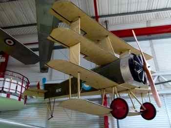 Wight Quadruplane (replica) Solent Sky Museum
