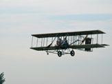 Judy flying in Wright B Flyer Replica