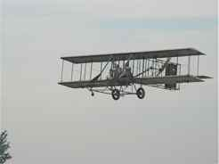 Wright B Flyer with Judy on board