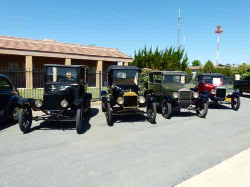 Antique Ford Cars