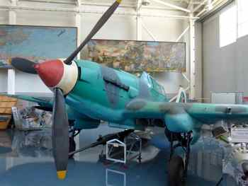 Ilyushin Il-2 Sturmovik (Bark) Armored Attack Aircraft at Monino