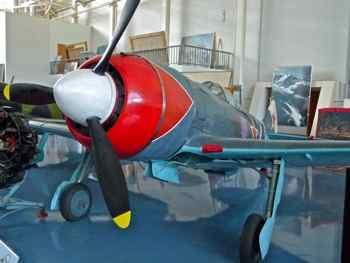 Lavochkin La-7 (Fin) at Monino Russian Air Force Museum