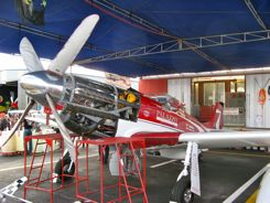 North American P-51 Mustang - Strega (in the pits)
