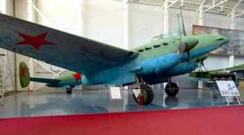 Petlyakov Pe-2 (Buck) Dive Bomber at Monino