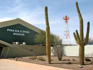 Pima Air and Space Museum Entrance