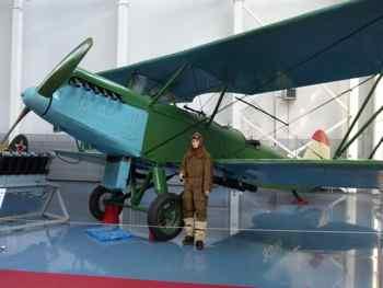 Polikarpov R-5 at Monino Russian Central Airforce Museum