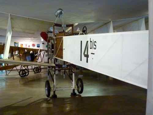 """Santos-Dumont 14-bis """"Canard"""" Front"""