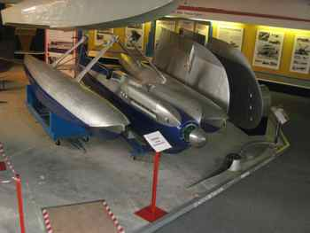 Supermarine S.6A at Solent Sky Museum