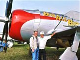 Pop reconnects with P-47 Thunderbolt