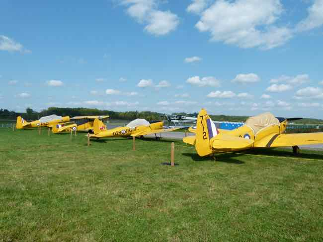 Vintage Wings of Canada Yellow Wings planes