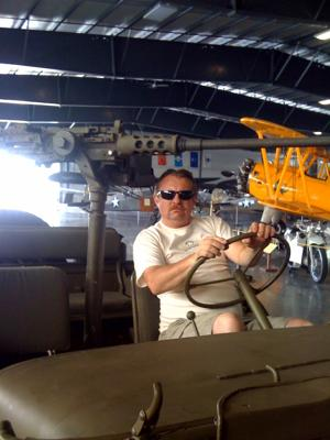 Antique vehicles of all types, not just antique airplanes