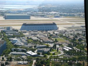 Back to Moffett Field where so many dirigibles landed in the past.