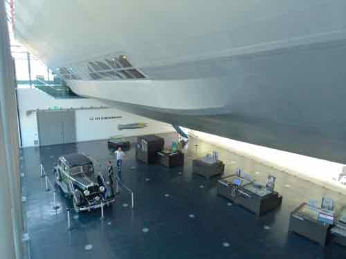 Full-scale section mockup of LZ 129 Hindenburg