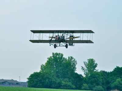 Wright B Flyer lookalike in Dayton Ohio