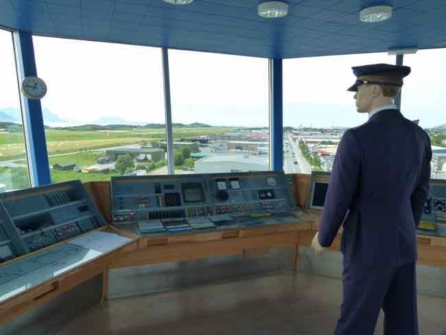 Norwegian Aviation Museum tower - tower mockup
