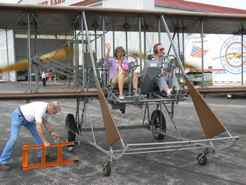 Wright B Flyer - ready for flight