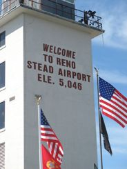 Reno Stead Airport Tower - control for the Reno Air Races