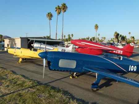Replica 1930s Air Racers