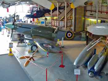 Vickers Supermarine Spitfire F.24 and Saunders Roe Skeeter Mk 5