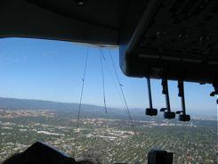 Zeppelin Eureka has panoramic views front...