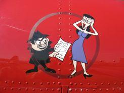 Boris and Natasha?  Since when was an aerobatic routine a secret?